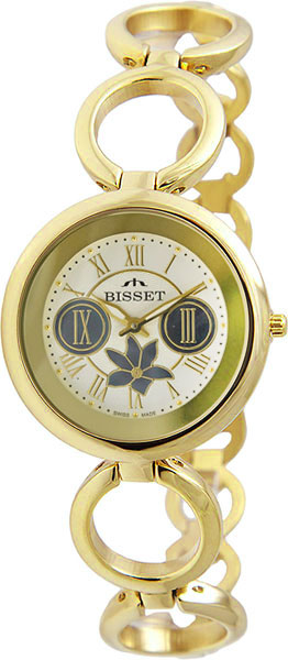 Женские часы Bisset BSBD39GRWM03BX