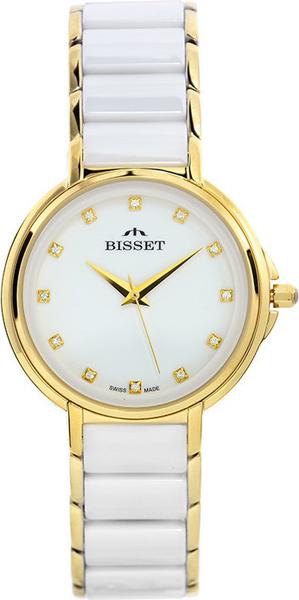 цена Женские часы Bisset BSBX01GIWX03BX онлайн в 2017 году