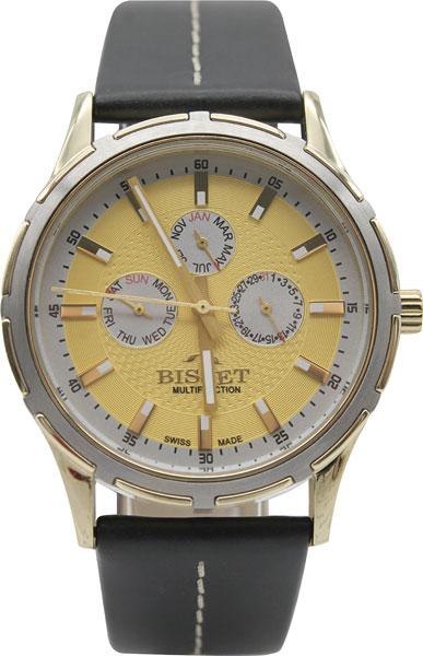 Мужские часы Bisset BSCC27TIGS05BX bisset мужские наручные часы bisset bscd25bibr05bx