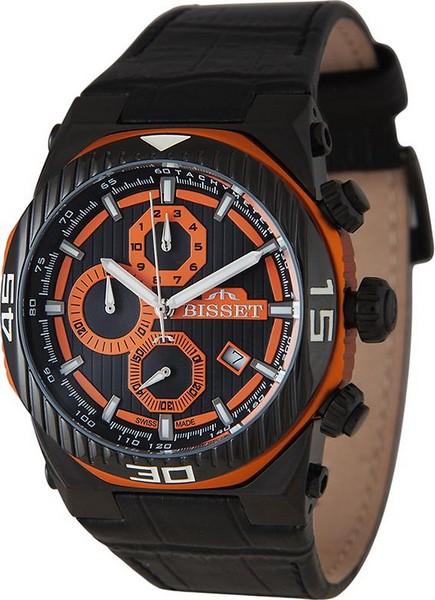 Мужские часы Bisset BSCD24TIBR05AX bisset мужские наручные часы bisset bscd25bibr05bx
