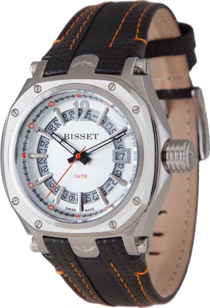 цена  Мужские часы Bisset BSCD25SISR05BX  онлайн в 2017 году