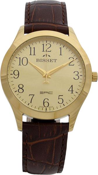 купить Мужские часы Bisset BSCE50GAGX03BX по цене 6650 рублей
