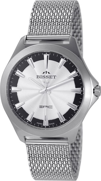 купить Мужские часы Bisset BSDE49SISB03BX по цене 6230 рублей