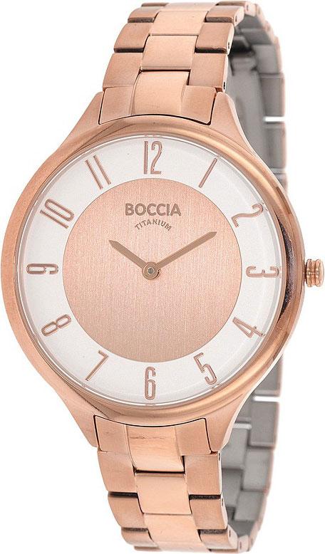 Женские часы Boccia Titanium 3240-06 Мужские часы Aviator R.3.08.0.090.4