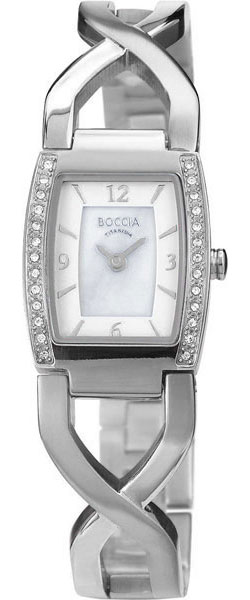 где купить Женские часы Boccia Titanium 3243-01 по лучшей цене