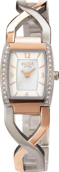 купить Женские часы Boccia Titanium 3243-02 по цене 7000 рублей