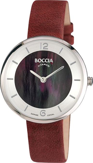 купить Женские часы Boccia Titanium 3244-02 по цене 7090 рублей