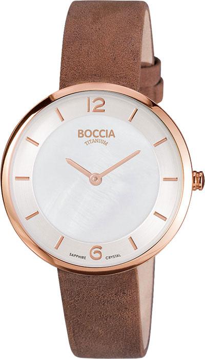 лучшая цена Женские часы Boccia Titanium 3244-04
