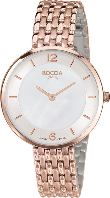 цены на Женские часы Boccia Titanium 3244-06 в интернет-магазинах