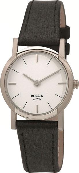 цена Женские часы Boccia Titanium 3247-01 онлайн в 2017 году