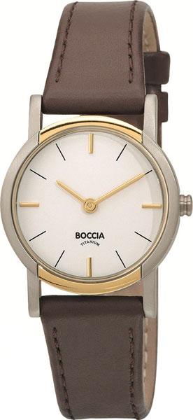 купить Женские часы Boccia Titanium 3247-02 по цене 5520 рублей