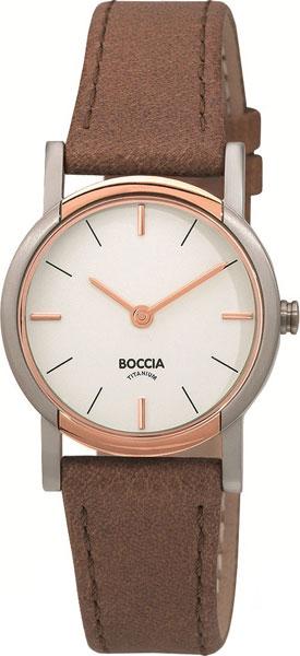 купить Женские часы Boccia Titanium 3247-03 по цене 5520 рублей
