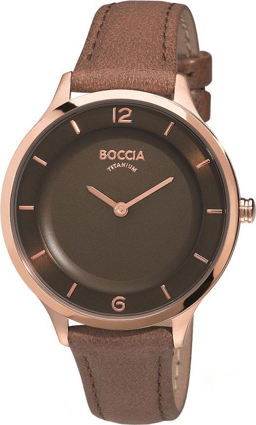 Женские часы Boccia Titanium 3249-03 толстовка ritmika w lux черный l
