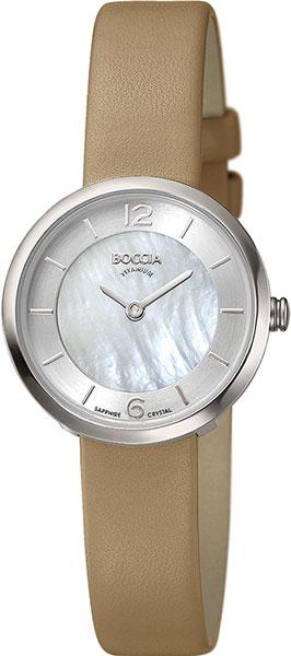 цена Женские часы Boccia Titanium 3266-01 онлайн в 2017 году