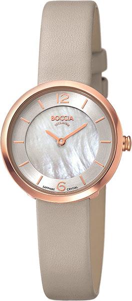 купить Женские часы Boccia Titanium 3266-02 по цене 6960 рублей