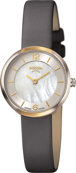 Женские часы Boccia Titanium 3266-04 женские часы boccia titanium 3266 03