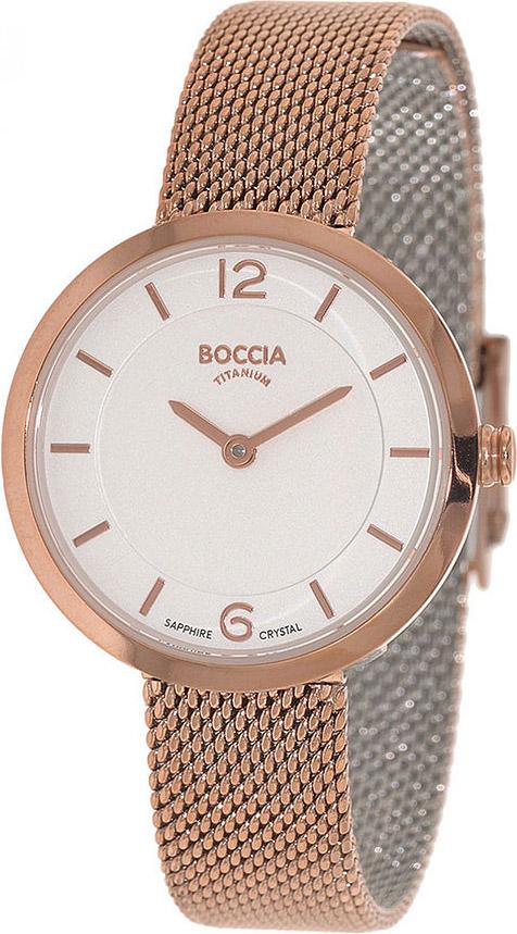 Женские часы Boccia Titanium 3266-07 женские часы boccia titanium 3266 03