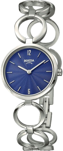 цена Женские часы Boccia Titanium 3271-01 онлайн в 2017 году
