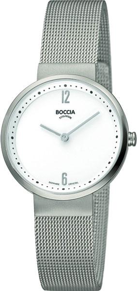 цена Женские часы Boccia Titanium 3283-01 онлайн в 2017 году