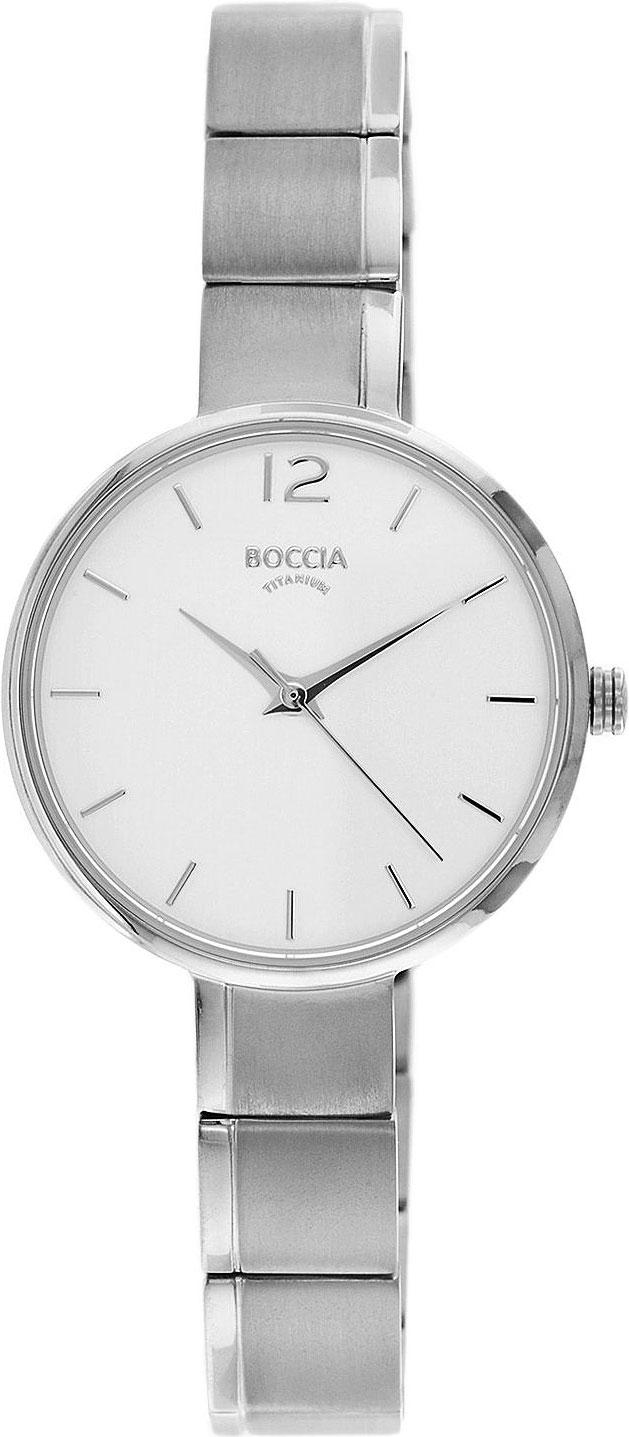 цена Женские часы Boccia Titanium 3308-01 онлайн в 2017 году