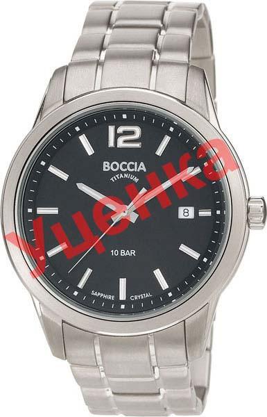 Мужские часы Boccia Titanium 3581-01-ucenka мужские часы boccia titanium 3589 06