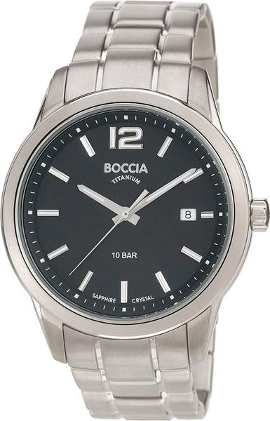 Мужские часы Boccia Titanium 3581-01 мужские часы boccia titanium 3592 01