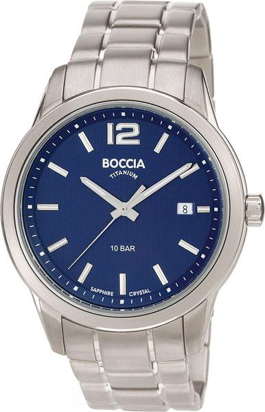 цена Мужские часы Boccia Titanium 3581-02 онлайн в 2017 году