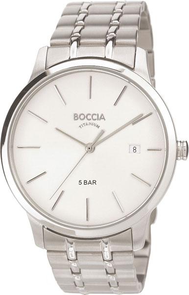 Мужские часы Boccia Titanium 3582-01 мужские часы boccia titanium 3549 01