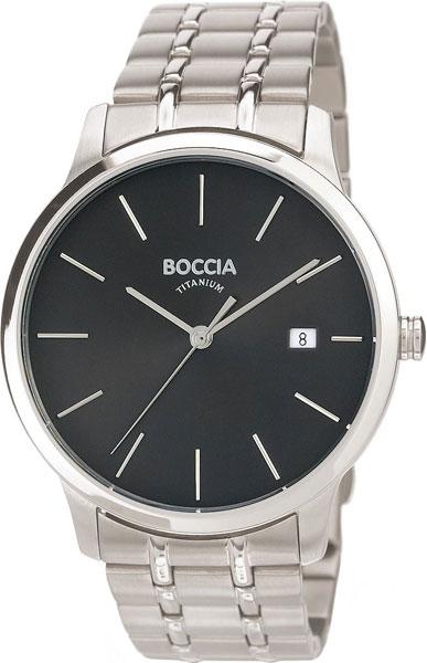 цена Мужские часы Boccia Titanium 3582-02 онлайн в 2017 году