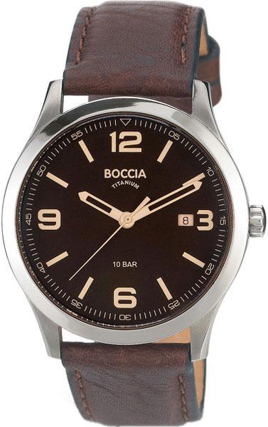 Мужские часы Boccia Titanium 3583-01 boccia titanium 3583 02