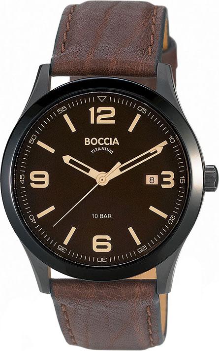 лучшая цена Мужские часы Boccia Titanium 3583-02
