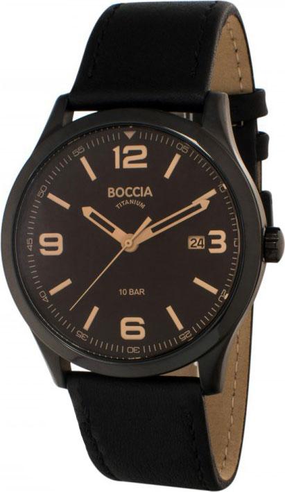 цена Мужские часы Boccia Titanium 3583-03 онлайн в 2017 году