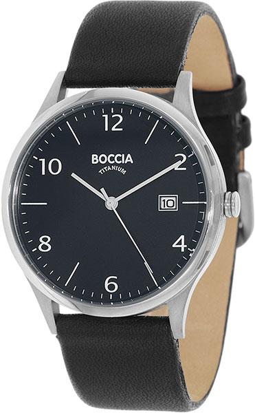 цена Мужские часы Boccia Titanium 3585-03 онлайн в 2017 году