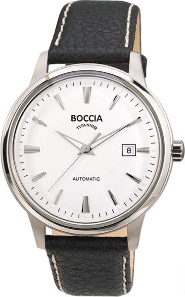 Мужские часы Boccia Titanium 3586-01 мужские часы boccia titanium 3592 01