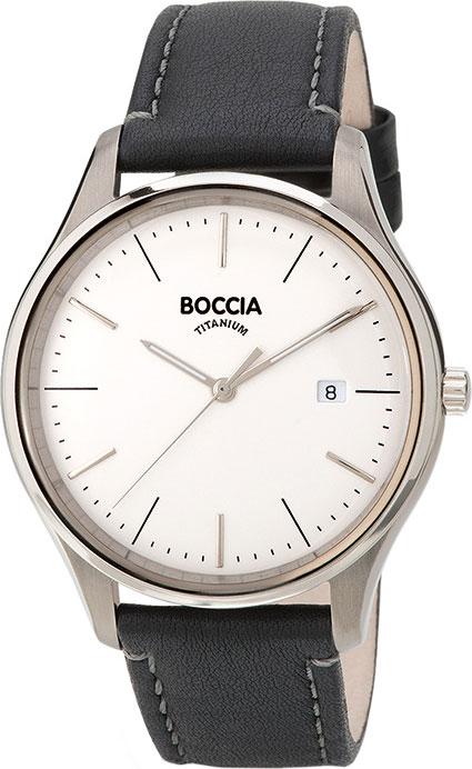 Мужские часы Boccia Titanium 3587-01 мужские часы boccia titanium 3592 01
