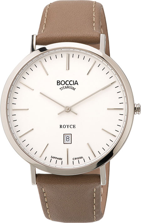 цена Мужские часы Boccia Titanium 3589-01 онлайн в 2017 году
