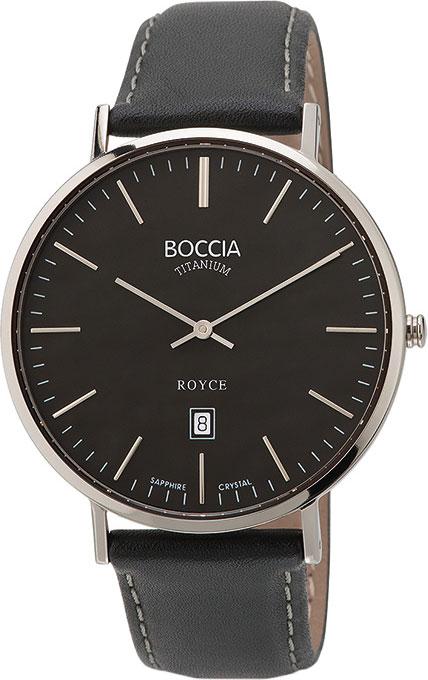 цена Мужские часы Boccia Titanium 3589-02 онлайн в 2017 году