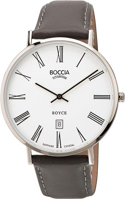 цена Мужские часы Boccia Titanium 3589-03 онлайн в 2017 году