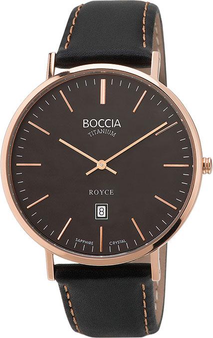 лучшая цена Мужские часы Boccia Titanium 3589-05