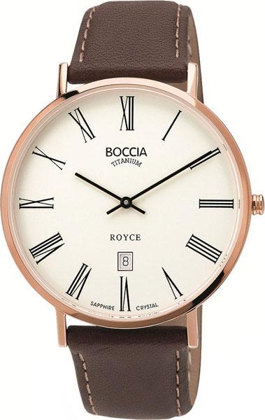 лучшая цена Мужские часы Boccia Titanium 3589-06