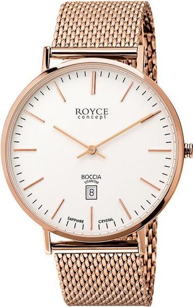 цена Мужские часы Boccia Titanium 3589-09 онлайн в 2017 году