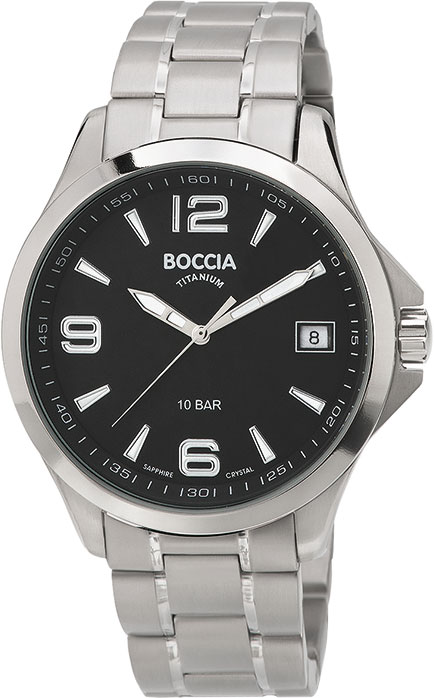 лучшая цена Мужские часы Boccia Titanium 3591-02