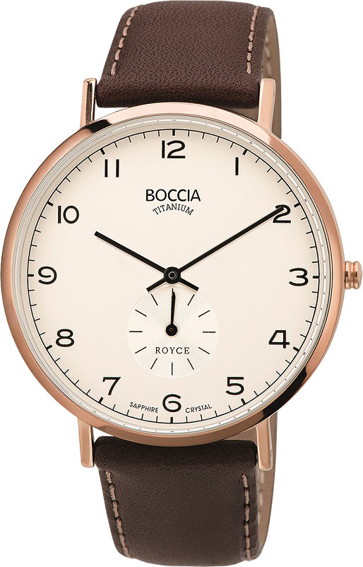 лучшая цена Мужские часы Boccia Titanium 3592-02