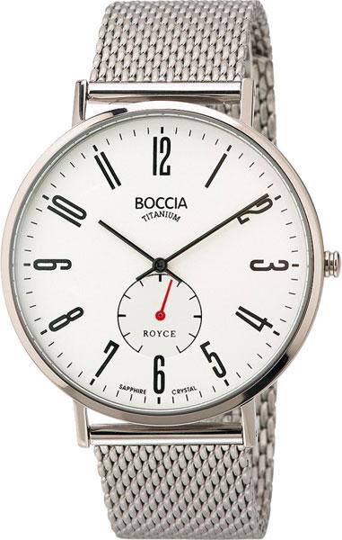 Мужские часы Boccia Titanium 3592-03 мужские часы boccia titanium 3592 01