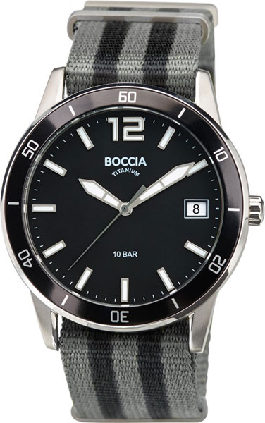 Мужские часы Boccia Titanium 3594-01 цена и фото
