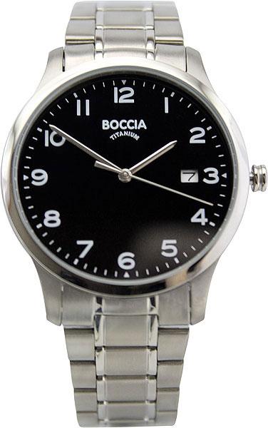 цена Мужские часы Boccia Titanium 3595-03 онлайн в 2017 году