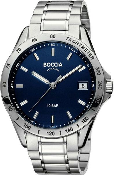 где купить Мужские часы Boccia Titanium 3597-01 дешево