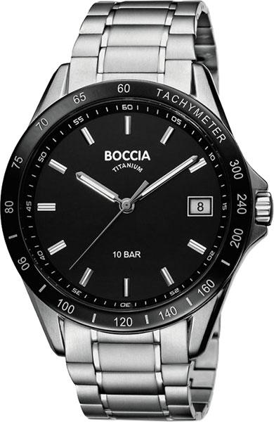 Мужские часы Boccia Titanium 3597-02 boccia часы boccia 3597 02 коллекция titanium