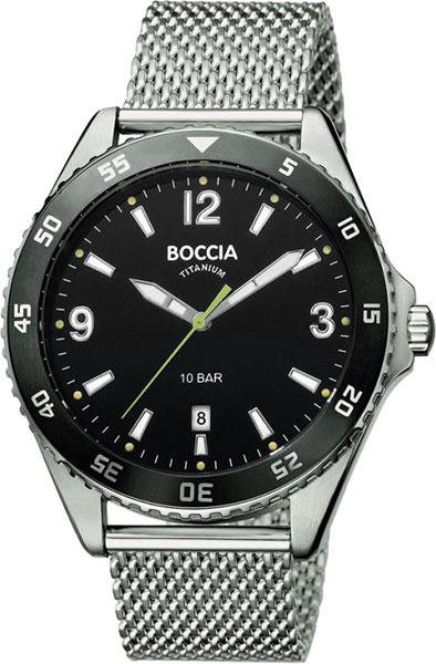 Мужские часы Boccia Titanium 3599-01 мужские часы boccia titanium 3549 01