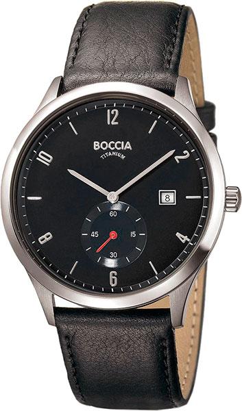цена Мужские часы Boccia Titanium 3606-03 онлайн в 2017 году